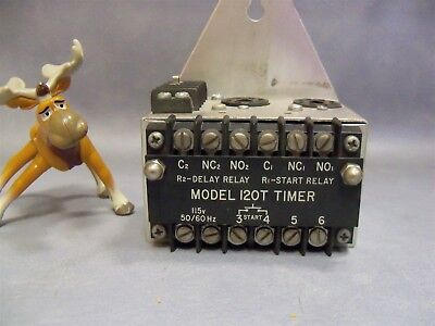120t Timer Honeywell Microswitch 115v Delay Relay