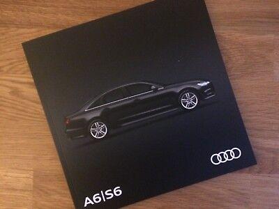 Audi A6 S6 Brochure 2017, 2018 Model Year - MINT - S Line Black Edition Allroad