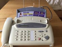 brother 3 in 1 - Phone, Plain paper fax and Photocopier Norwood Norwood Area Preview