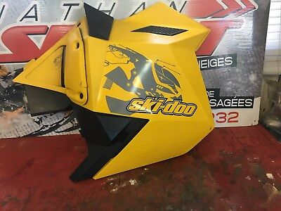 SKIDOO MXZ 600 ETEC 2010 RIGHT YELLOW SIDE PANEL SIDE 500 600 800 NATHANSPORT