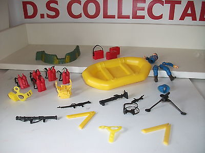 "A-TEAM vintage 3.75"" JOB LOT BUNDLE accessories,weapons 1983 CANNELL PROD USED"