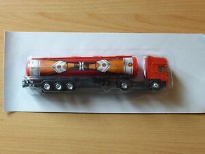 Modellino-autocarro-per-birra-Rimorchio-trasporto-SCANIA-Konig-Pils-TANKZUG-MK-3