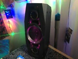 Sony gtk-n1bt 2 way setting Bluetooth 100w speaker
