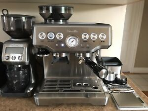Breville Barista Express + Distribution Tools & OE Dosing Collar