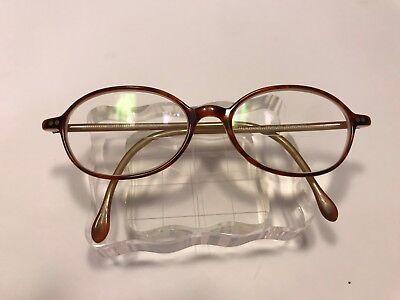 Vintage Bulova Demi AMBER Eyeglass 49-17-140 TRIBUTE (Vintage Eyeglasses Toronto)