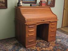 Antique*Solid American Oak*Roll Top*Rolltop*Writing*Office*Desk* Narellan Camden Area Preview