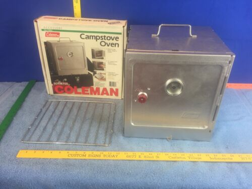 Coleman 5010B700 Vintage Folding Camp Camping Oven w/ Box