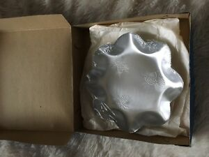 Vintage Canadian Millbrook Aluminum Pinecone Candy Dish