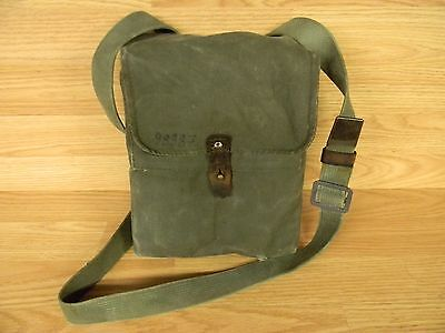 YUGO MILITARY 4 CELL MAGAZINE AK POUCH CANVAS WITH STRAP USED 7.62 X 39 M-70