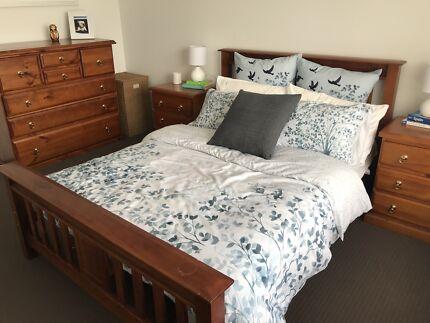 Wooden Bedroom Suite (Double Bed)