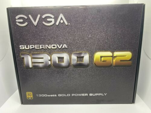 USED EVGA Supernova 1300 G2 1300W Power Supply W/ all cables and original box