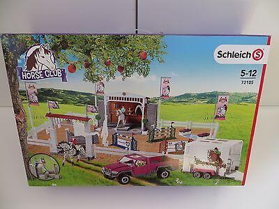 Schleich Horse Club - 72105 - großes Reitturnier mit Pick up und Anhänger