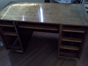 antique solid wood desk