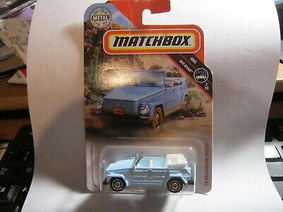 '74 Volkswagen Type 181 * Blue *  2019 Matchbox Case M