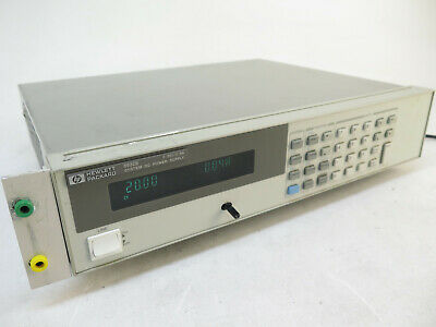 Hp 6632b 0-20v 0-5a 100w System Dc Power Supply - 120v