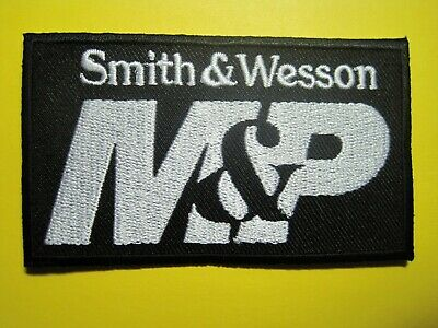 SMITH & WESSON M&P PATCH FOR VEST, SHIRT, JACKET, HAT, GUN CASE. SEW ON 2 X 3.5