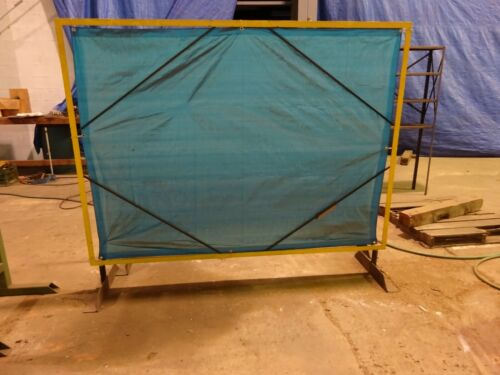 WELDING CURTAIN AND FRAME 7