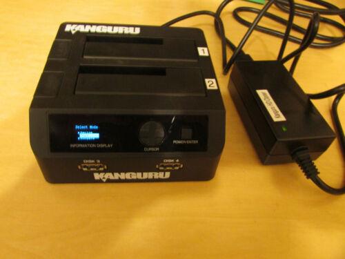"Kanguru KCLONE-1HD-SATA 2.5"" & 3.5"" Black Hard Drive Duplicator"