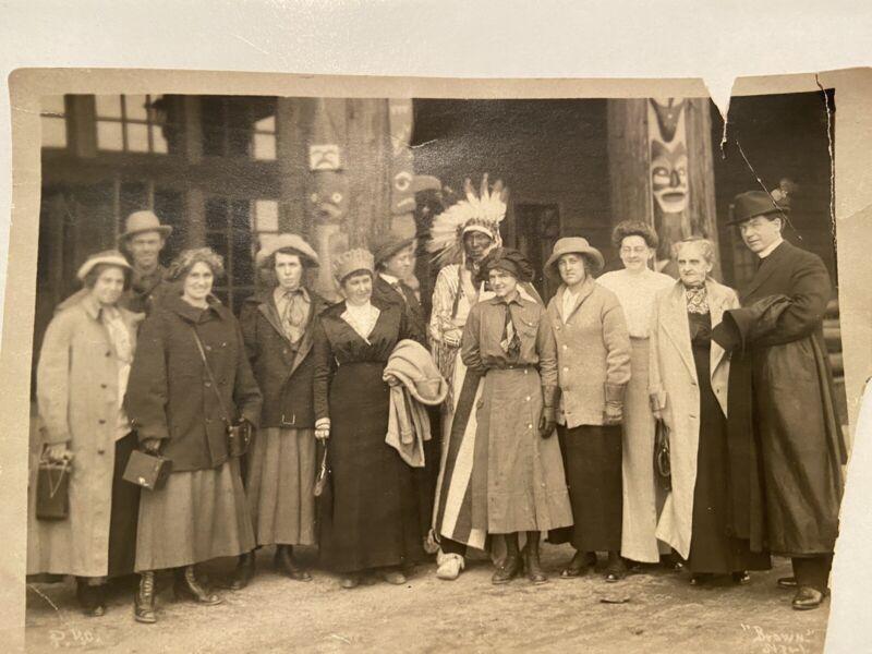 Antique Native American Photograph