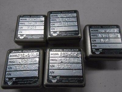 Vectron Crystal Oscillators Nos 4.023 Mhz Model 231-1045 Qty 5 Bgx