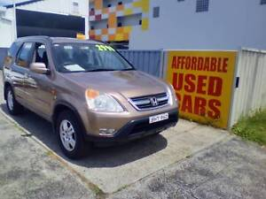 2002 Honda CR-V SUV 1 Year Roadside Assist Woy Woy Gosford Area Preview