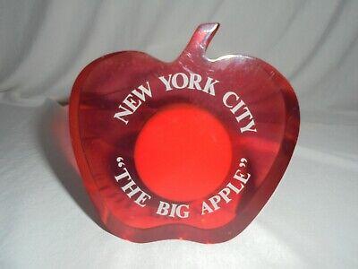 New York Citythe Big Apple Desk Top Magnetic Paper Clip Holder