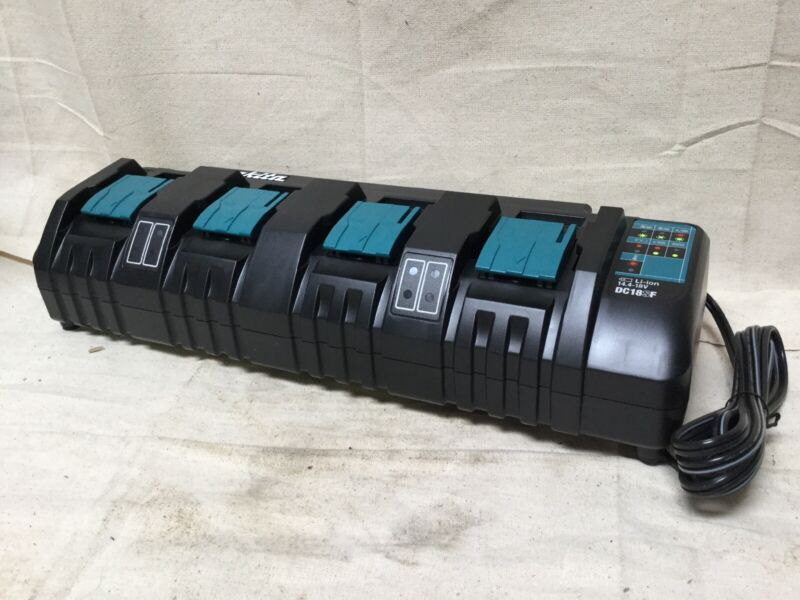 MAKITA DC18SF Battery Charger Li-Ion Output Voltage: 18.0V 4 Ports