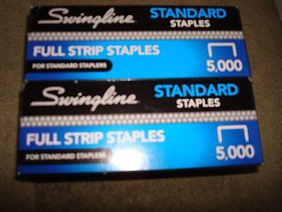 Swingline Standard Staples Lot Of 2