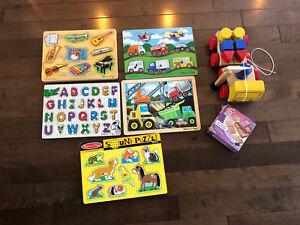 Puzzle Melissa and Doug acheté pièce à 20$