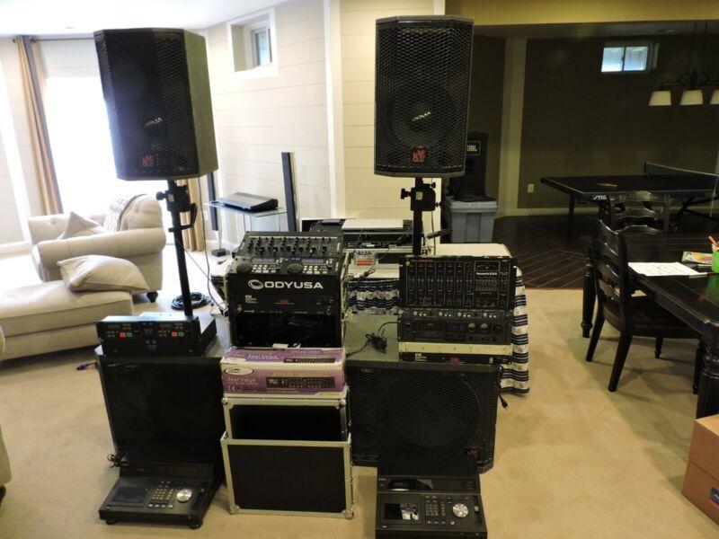 Apogee Sound DJ System and Equipment