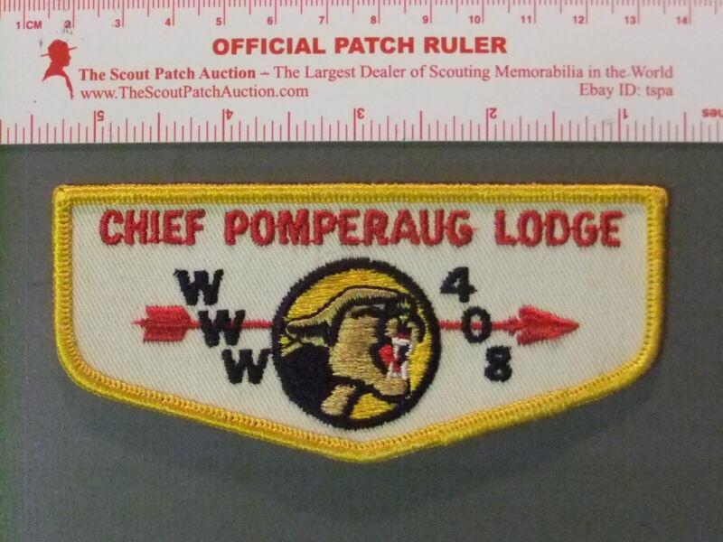 Boy Scout OA 408 Chief Pomperaug flap 6750JJ