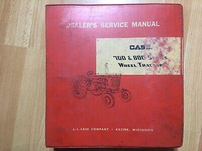 Original Case 700 800 730 830 Tractor Factory Service Repair Manual Oem