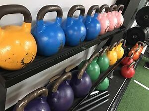 Used Competition Kettlebells Randwick Eastern Suburbs Preview