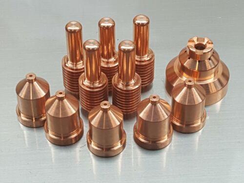 11pc Plasma 212724 Electrodes 212726 Tips 212730 Shield Miller ICE 60T/C 80 100