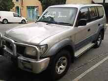 2001 Toyota LandCruiser Prado GXL (4x4) Silver 4 Speed Automatic Parkwood Canning Area Preview