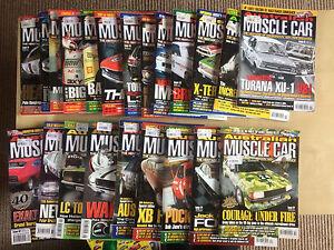 Australian muscle cars magazine 22 issues Morphett Vale Morphett Vale Area Preview