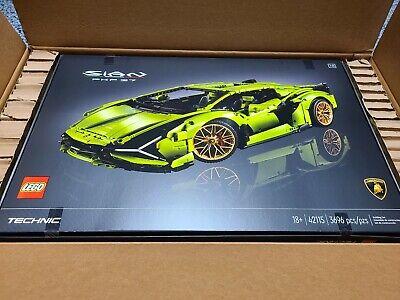 LEGO Technic Lamborghini Sián FKP 37 - **Brand New In Box ** Ready to Ship!