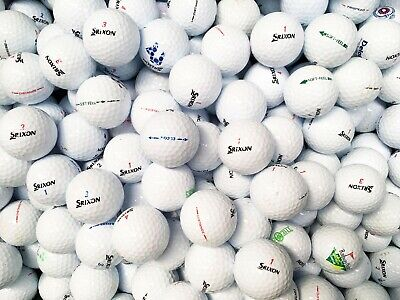 50 x SRIXON GOLF BALLS MIX GRADE A/B AD333, SOFT FEEL, Z STAR, DISTANCE, ETC
