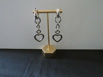 """New Old Stock"" Vintage Gucci Style 24kt Gold Electroplated Clip Earlings"