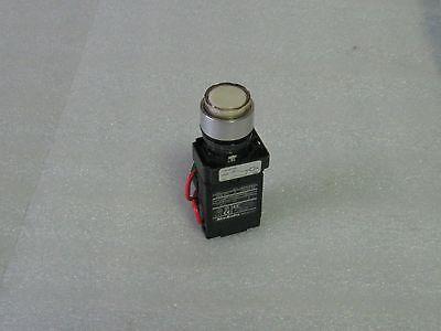 Allen Bradley White Push Button, 800E-2T5, Transformer, Contact, Used, Warranty