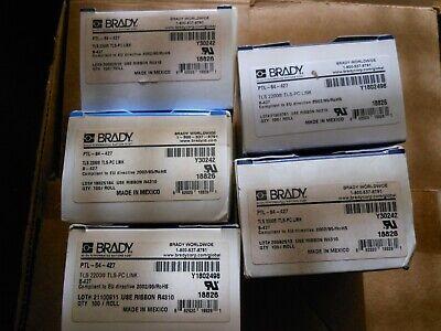 5 New Brady Ptl-64-427 Tsl 2200 Tls-pc Link Printer Labels