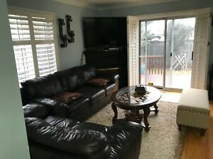 2 pc sofa set with coffee table