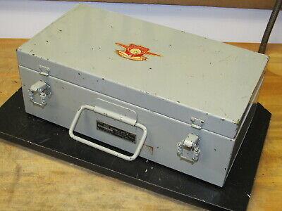 Vintage Military I-177-b Tube Tester Empty Case