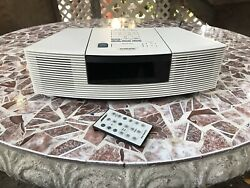 Wave Radio CD Player Stereo Alarm Clock W/ Remote AWRC1-P