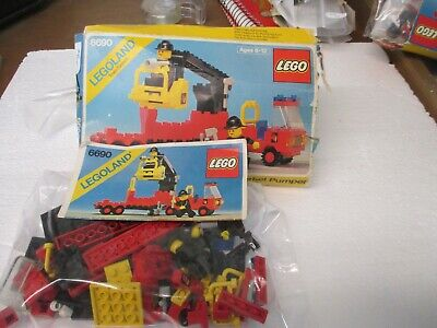 LEGO Town Set 6690 Snorkel Pumper City Fire Boom Rescue Complete w/Box and Inst.
