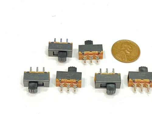 6 pieces Slide Switch SS22F24 2P2T 6 pins 2 Position  on/off G5