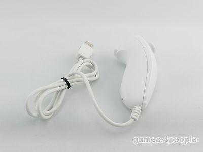 Nintendo Wii ( weiß ) ORIGINAL Nunchuk für Remote Controller / Fernbedienung