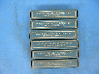 6 Pcs 7.2k Ohm 50 Watt Ward Leonard 50a7200 Adjustable Wirewound Resistor