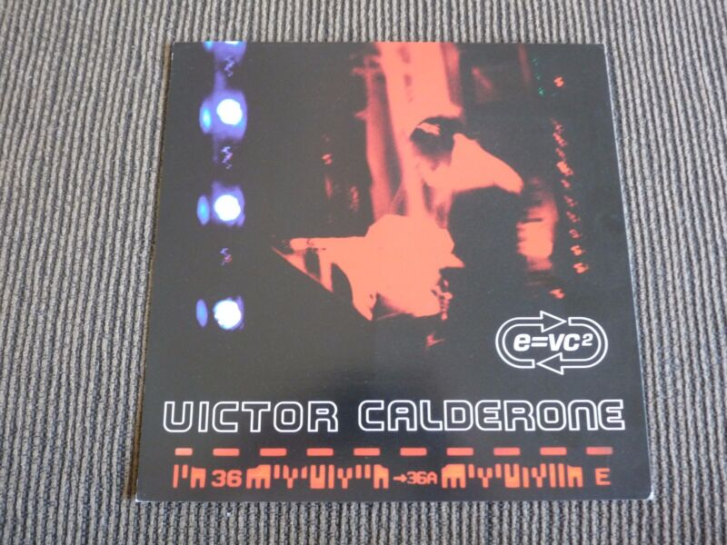 Victor Calderone e=vc2 LP Poster Photo Double Sided Flat 12x12 RARE
