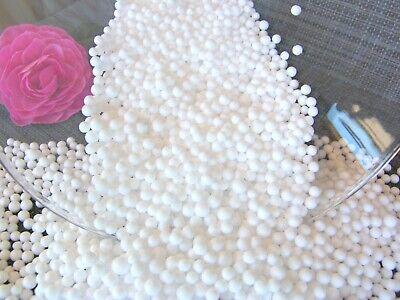 0-60 Liter 🌺 Styropor Kugeln Füllung Styropor Perlen 3-6 mm (Styropor-formen)